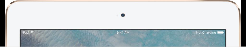 Если на устройстве iPad отображается предупреждение «Нет зарядки»