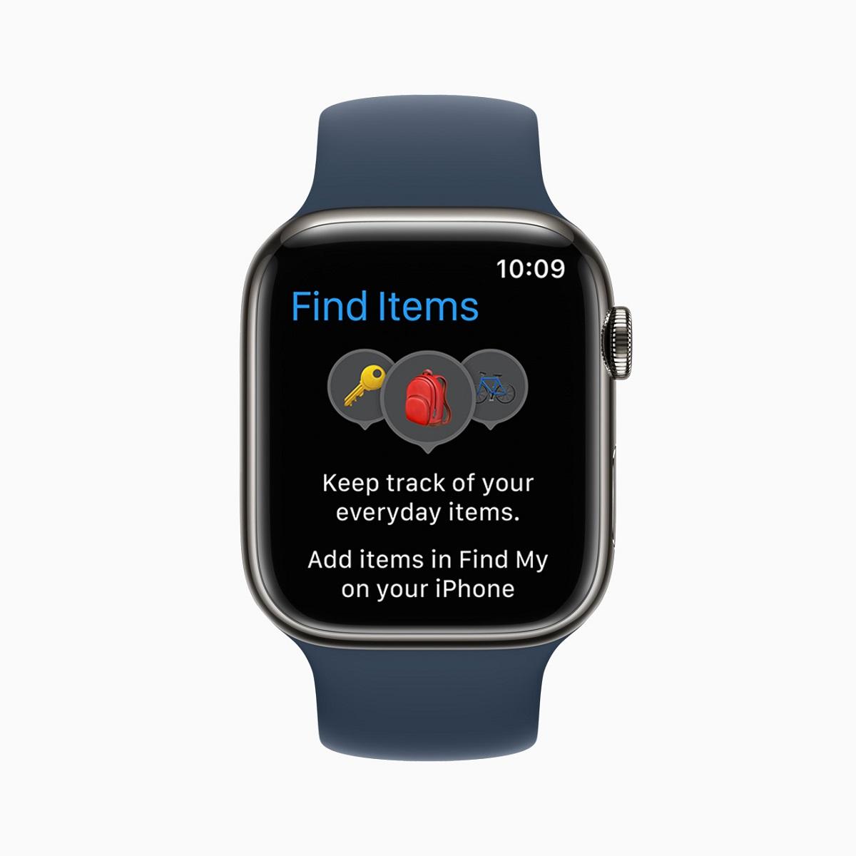 Новое приложение Find Items помогает пользователям находить предметы с прикрепленным AirTag и совместимые сторонние объекты с помощью сети Find My.